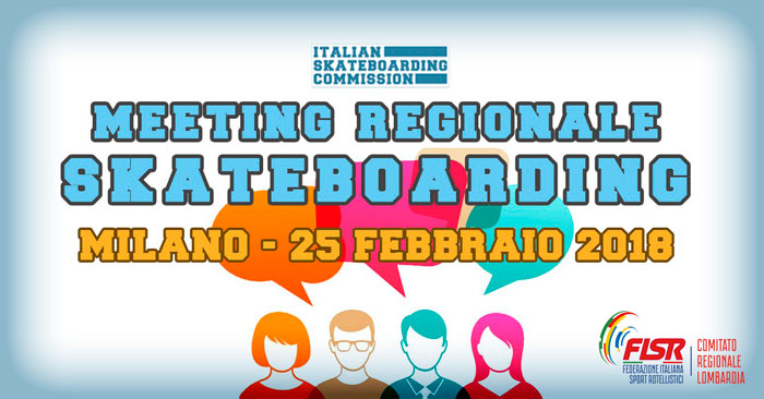 Skateboarding meeting a Milano