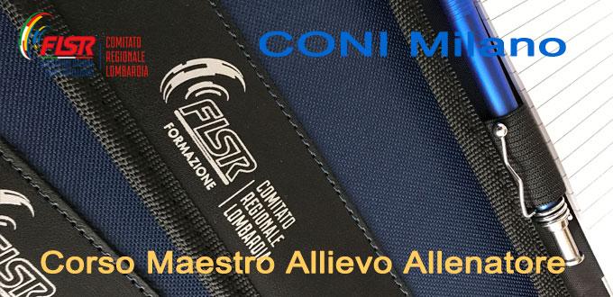 Corso Maestro Allievo Allenatore 2017