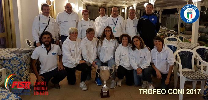 Accompagnatori Delegazione Lombardia Trofeo CONI 2017