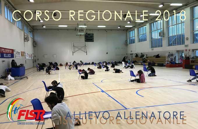 Istruttore Giovanile Allievo Allenatore 2018