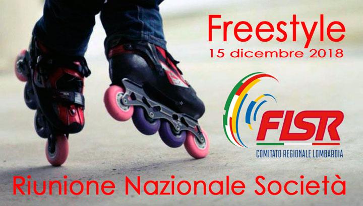Riunione Nazionale 2018 Freestyle